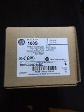 Allen-Bradley 100S-C09D14BC Contactor, 110/120V, 3 NO Main Poles, 1 NO/4 NC Aux