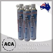 3 x Pistol Heavy Duty Brake and Parts Cleaner 840ml Aerosol Spray Can