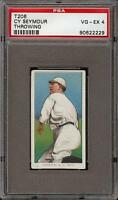 1909-11 T206 Cy Seymour Throwing Piedmont 350 New York PSA 4 VG - EX