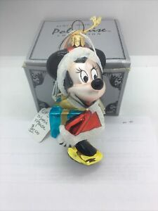 Polonaise Collection Minnie Mouse Glass Ornament Kurt S Adler by Komozja NEW