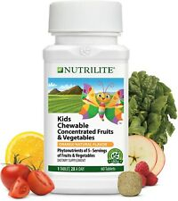 Amway Nutrilite Kids Chewable Concentrate Fruit and veg 1 x 60 Tablets