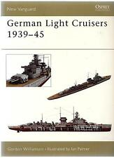 Osprey Vanguard 84,  German Light Cruisers 1939-45, Softcover Reference