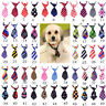 Pet Puppy Dog Cat Neck Tie Mix Color Polyester Adjustable Bow Ties for Small Dog