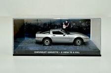 James bond voiture miniature-Collection CHEVROLET chorvette