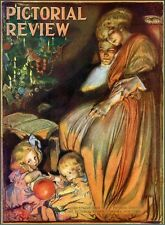 Christmas Rose O'Neill 1909 Vintage Magazine Cover Reproduction Poster!