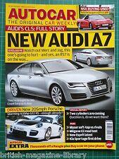Autocar 2010 NSX A7 Test: Megane CC Driven: 911 997 GT2 RS GranCabrio XKR E500
