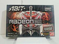 RADEON 9600 SERIES ABIT AGP 8X/4X R9600XT 256MB DDR
