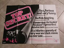 Top Secret movie poster - Original Press Quote movie poster Val Kilmer