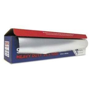 "Durable Packaging 92410 Heavy-duty Aluminum Foil Roll, 24"" X 1,000 Ft"