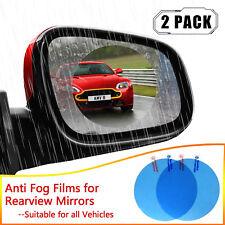 2X Universal Car Rearview Mirror Rainproof Anti-fog Film Rear View Mirror Window