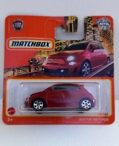 Matchbox basics series 21. Fiat 500 Turbo  Neuf en boite.