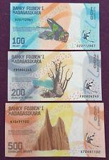 LOT BILLETS MADAGASCAR NEUFS