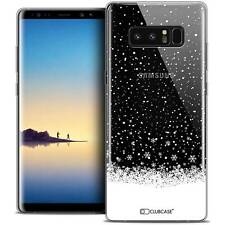 "Coque Crystal Gel Pour Samsung Galaxy Note 8 (6.3"") Extra Fine Souple Noël 2017"