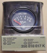 VDO Cockpit 52mm Oil Pressure Gauge for 4WD Nissan Toyota Mitsubishi Ford VW BMW