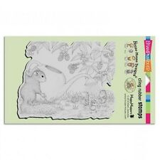 HOUSE MOUSE RUBBER STAMPS CLING SLAPSTICK SQUIRREL SHOWERS NEW cling STAMP