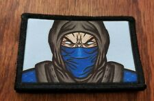 Mortal Combat Frostbite Morale Patch Military Tactical Army Funny Flag USA
