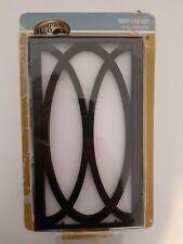Hampton Bay Wireless or Wired Doorbell Black Frame/White 1003008637