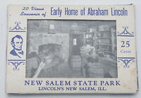 Vintage Souvenir Card Set 20 Views of Early Home of Abraham Lincoln - New Salem