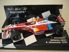 F1 WILLIAMS SUPERTEC FW21 SCHUMACHER 1999 1/43 MINICHAMPS C439938576-1 formule 1