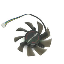 5pcs /lot 75mm 4pin PWM 2 Ball Bearing Cooler Cooling Fan For VGA Video Card