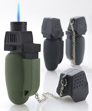 TurboFlame Lighter/Blowtorch Gadget Military GREEN DIY Workshop Tool Accessories