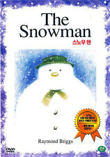 The Snowman (1982) New Sealed DVD The Raymond Briggs