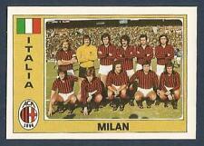 PANINI EURO 77 #137-ITALY-MILAN TEAM PHOTO