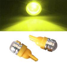 2Pcs Car Side Wedge Tail Yellow Light Backup Lamp Bulb T10 LED 194 168 W5W