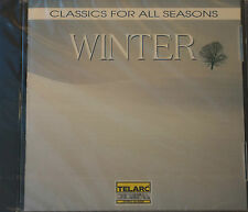Rare Classics for Winter CD Sealed DDD Telarc 1992 Sealed MINT New USA 14 Tracks