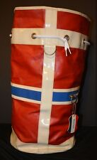 VTG AMERICAN TOURISTER Duffel Bag Pilot Stewardess Carry-On Cylinder Bag Airline