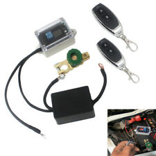12V Car Truck Battery Disconnect Cut Off Isolator Master Switches Remote Control