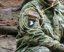 JSOC JTF SCREAMING EAGLES 101st AIRBORNE SET (iron-on) + REVERSED US vêlkrö FLAG