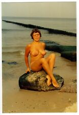 Nudism NUDE WOMAN ON BEACH / NACKT AM STRAND AKTFOTO AKT * 80s Photo #5
