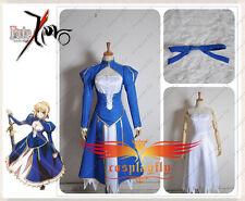Fate Zero Stay Night Saber Cosplay Costume Custom Made
