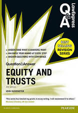 Law Express Question and Answer: Equity and Trusts(Q&A Revision Guide) (Law Expr
