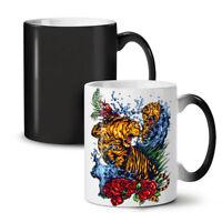 Wild Tiger NEW Colour Changing Tea Coffee Mug 11 oz   Wellcoda