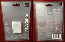 Memory Card / Carte Memoire Light Grey PS1 (Playstation) NEW / NEUF