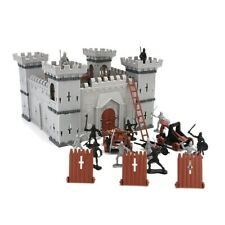 1*Medieval Knights Castle Soldiers Infantry Figures Playset Toy History Gift Set