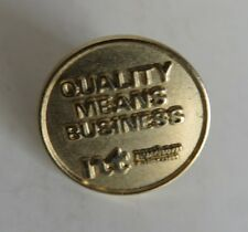 VINTAGE NORTHERN TELECOM QUALITY MEANS BUSINESS LAPEL PIN             (INV17675)
