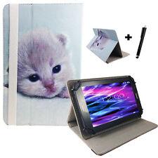 10.1 zoll Motiv Tablet Tasche Hülle Case Samsung Galaxy Tab 2 P5100 - Katze