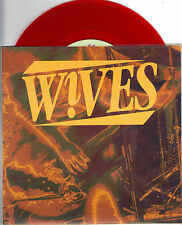 The Wives - Grinding - 1993 Redo 7 Inch RED Vinyl Record NEW