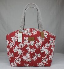 UGG AUSTRALIA HAWAII TROPICAL TOTE LARGE PURSE CORAL REEF COLOR $125.00 RETAIL