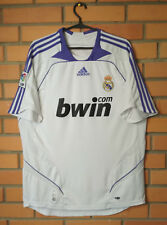 Real Madrid Home football shirt 2007 - 2008 size L jersey soccer Adidas
