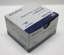 5 Sony H1 HD HDV tape HDM-63VG for Canon HV20 HV30 HV40 XLH1S XH A1 G1 H1 camera