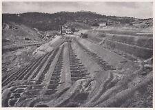 D3382 Vasche per trattamento minerale di rame - Stampa d'epoca - 1940 old print