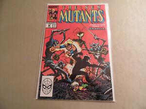 New Mutants #80 (Marvel 1989) Free Domestic Shipping