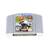 for Nintendo 64 N64 Mario Kart 64 Video Game Cartridge US Version