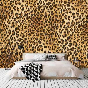 Brown Leopard Bread 3D Full Wall Mural Photo Wallpaper Printing Home Kids Decor