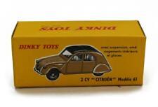 Voiture 1/43ème modèle réduit DINKY TOYS (Atlas) 2CV Citroën modèle 61