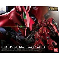 BANDAI RG 1/144 MSN-04 SAZABI Plastic Model Kit Gundam CCA NEW Japan